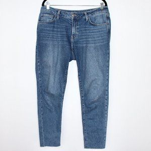 Adriana Ankle Mid-rise Super Skinny Jean Size 30
